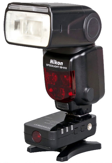 Yongnuo YN-622N with Nikon Speedlight SB-910 flashgun