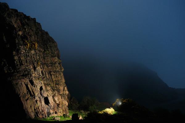 Salisbury Crags, Edinburgh