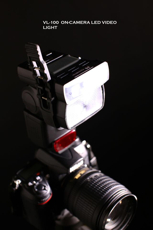 Wish your flashgun had an LED modelling lamp? Just get a strap-on