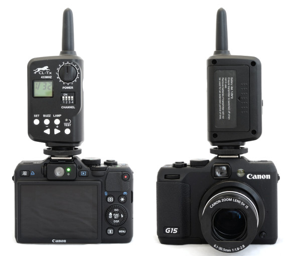 Canon Powershot G15 with FT-16 flash trigger
