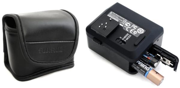 Fujifilm EF-X20 with case