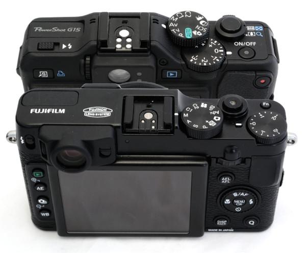 Canon Powershot G15 and Fujifilm X20