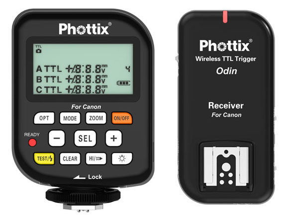Phottix Odin Wireless TTL Trigger for Canon