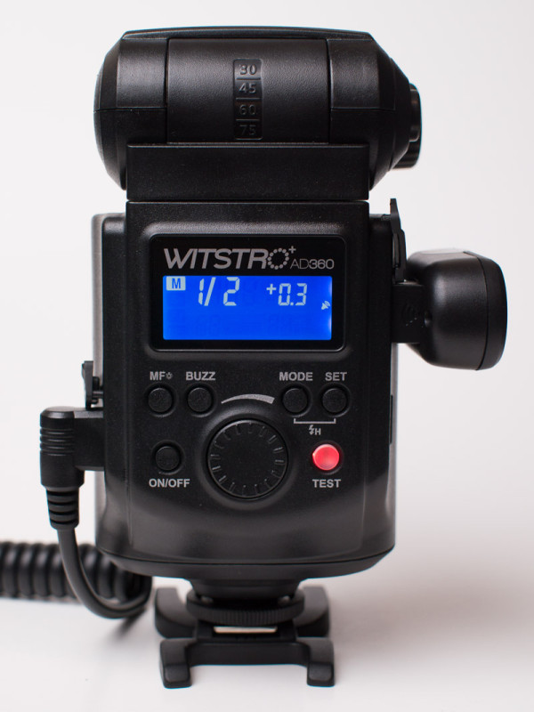 Godox Witstro AD360 interface