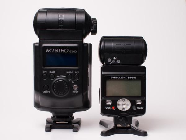 Godox Witstro AD360 vs. Nikon SB-800
