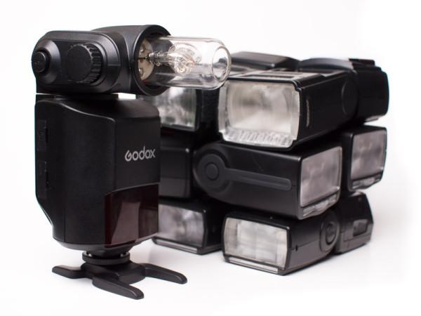 Godox Witstro AD360 vs. conventional flashguns