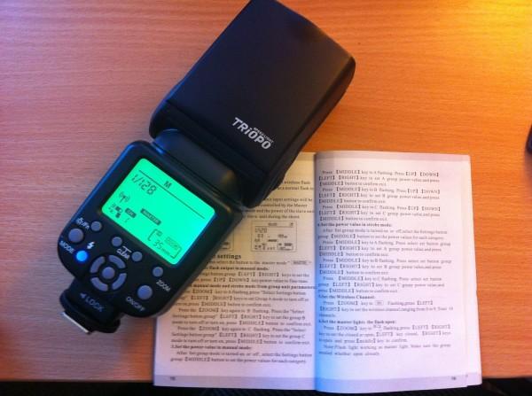 Triopo TR-850EX instruction manual