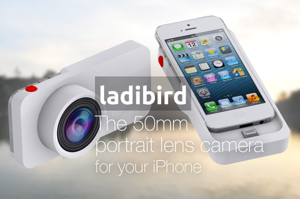 Ladibird: the 50mm portrait lens camera for your iPhone