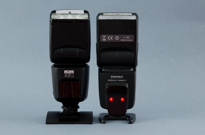 Metz 52 Af-1 Nikon vs YN 568 EX-II Canon