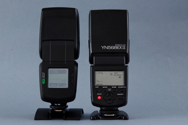 Flash Yongnuo Yn 568 EX-II para Canon en modo i-TTL Nikon