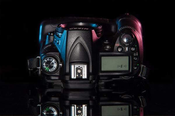 Nikon D90 hotshoe