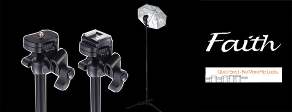 Faith SpeedLight Stand by InspiredPhotoGear