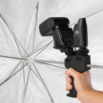 Westcott has released a created a new way to 'handle' speedlites and modifiers: the Speedlite ProGrip Handle.