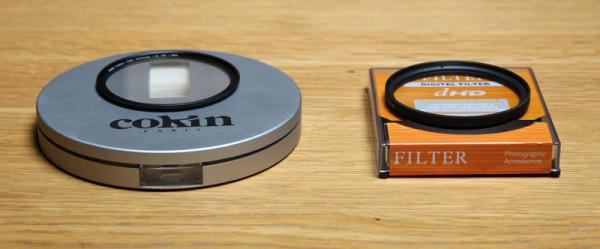 Cokin Pure Harmonie Anti-UV filter and generic alternative