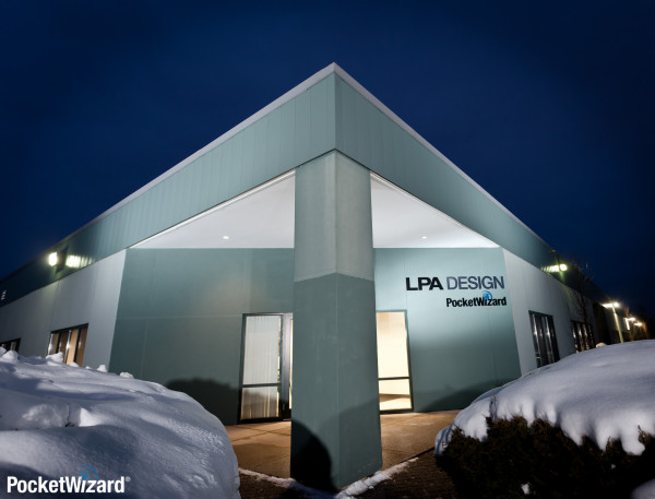 PocketWizard's headquarters in South Burlington, Vermont