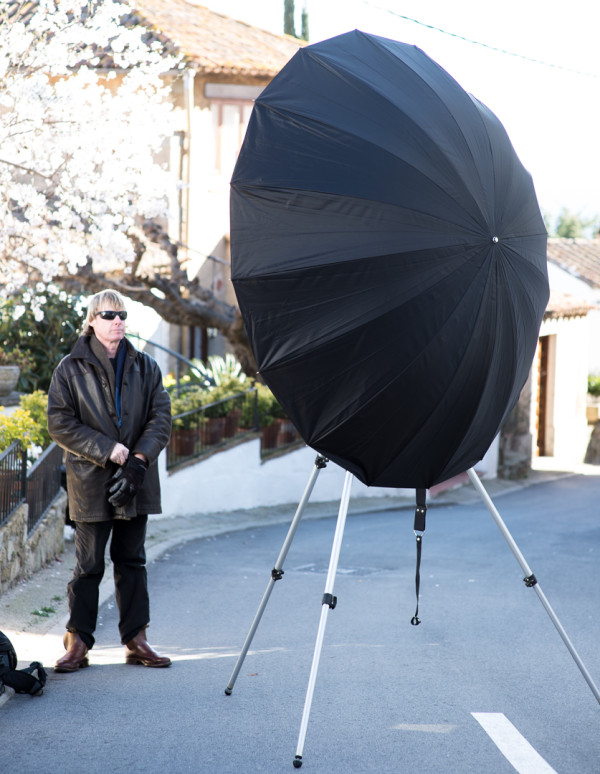 Pixapro 180cm black/silver umbrella