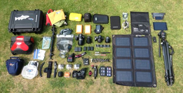 Adventure Filmmaking Gear on www.InMyBag.net