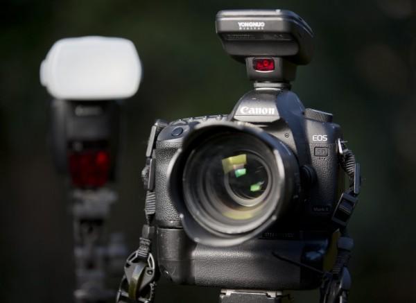 Yongnuo YN-E3-RT, Canon 5D Mark III, Speedlite 600EX-RT