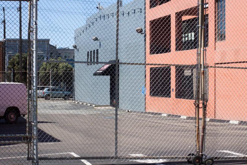 The closed Calumet Photographic store in San Francisco, California