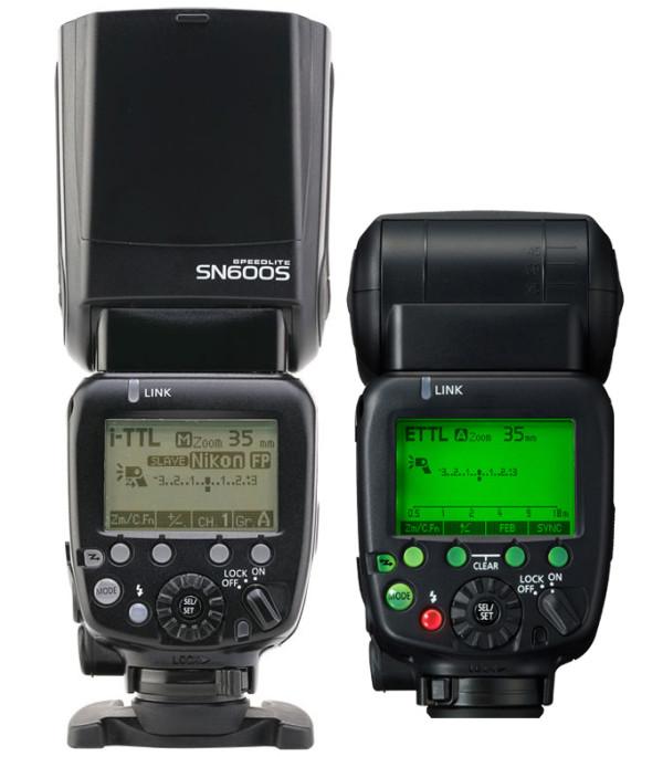 Shanny SN600S vs. Canon Speedlite 600EX