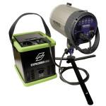 Tronix Explorer 500Li with studio flash