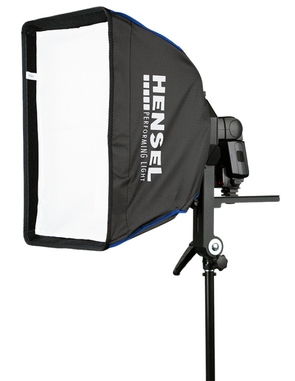 Hensel Speedlight Adapter with softbox