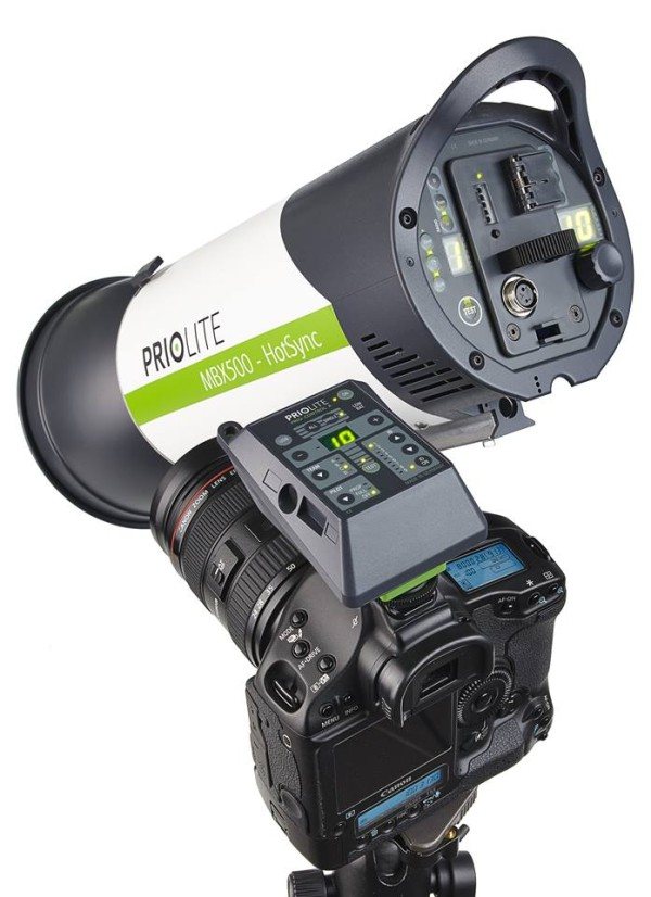 Priolite Hot Sync Remote Control and MBX500 Hot Sync