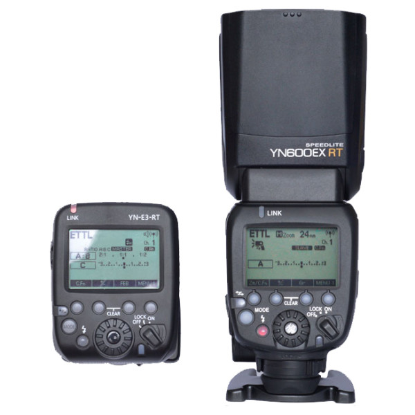 Yongnuo Speedlite YN-E3-RT and YN600EX-RT