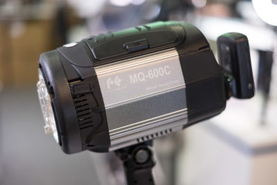One of the many HSS monoblocs that could be seen on the fair, the Falcon Eyes MQ-600C