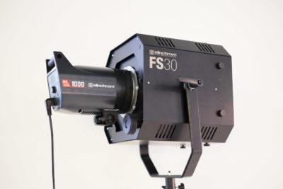 The new FS30 fresnel lens from Elinchrom