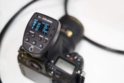 Profoto also showed the new Nikon TTL triggers for the Profoto B1. No word on HSS availability yet.