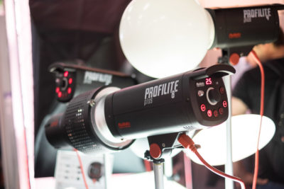 The renamed Multiblitz flash, which is now called Profilite