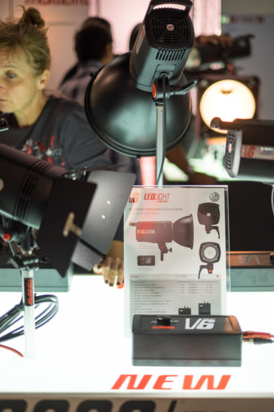 Multiblitz also showed their new LED light, called the V6