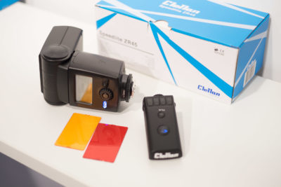Clellan also showed ZR45 for Nikon, but now with HSS TTL triggers as well. These triggers are also available for Canon