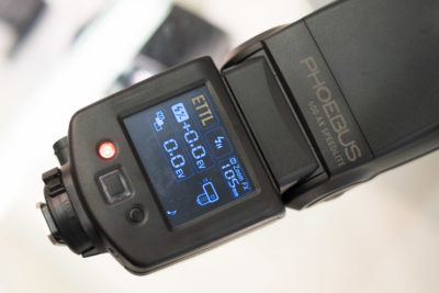 Phoebus managed to surprise me with a TTL flash with touchscreen. Release date is end this year.