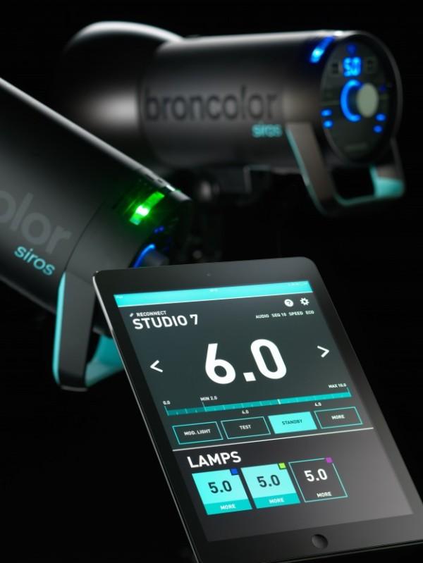 Broncolor Siros iPad