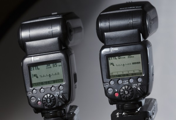 Shanny SN600C-RT and Canon 600EX-RT