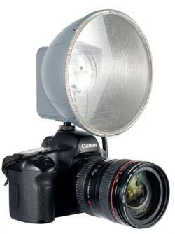 Jinbei RD600 Recharge Digital head on-camera
