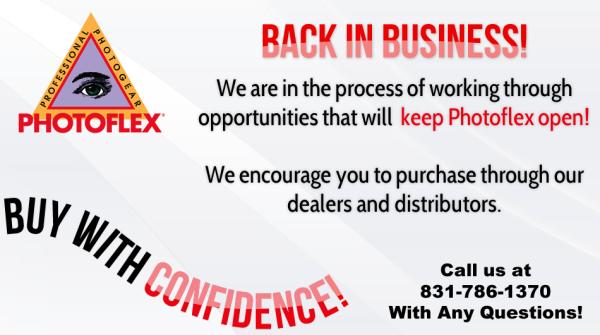 Photoflex reopening