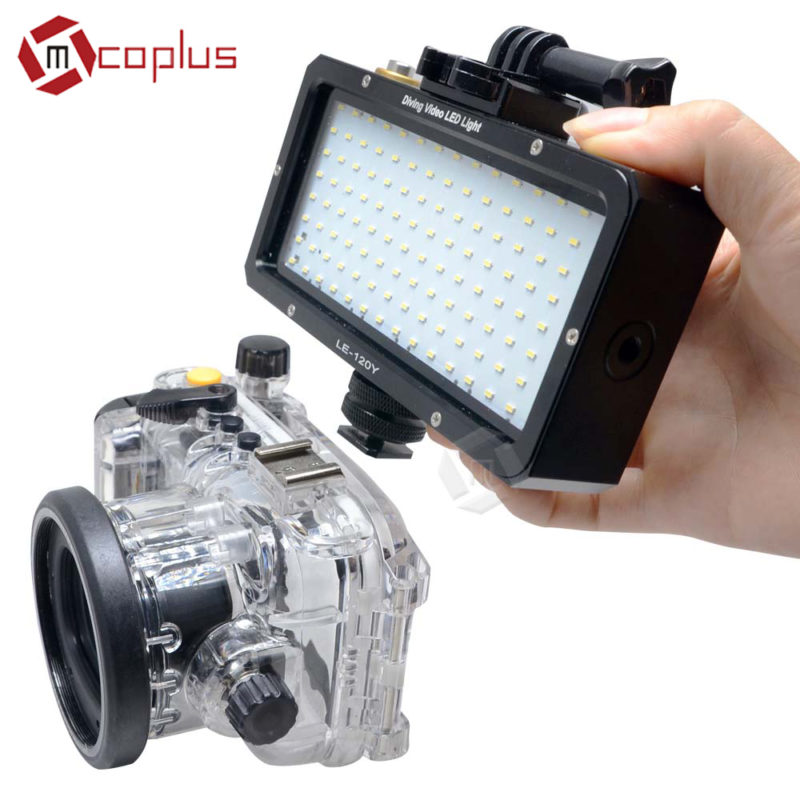 Mcoplus Diving Video LED Light