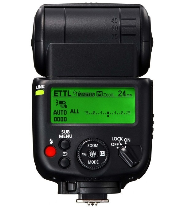 Canon Speedlite 430EX III-RT master mode
