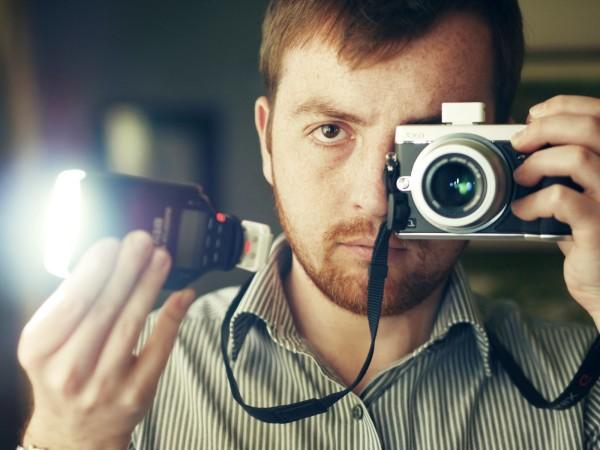 FlashQ self-portrait