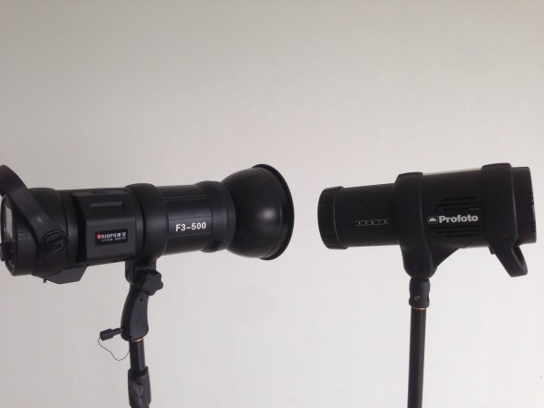 Triopo F3-500 and Profoto B1