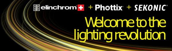 Elinchrom, Phottix and Sekonic lighting control system