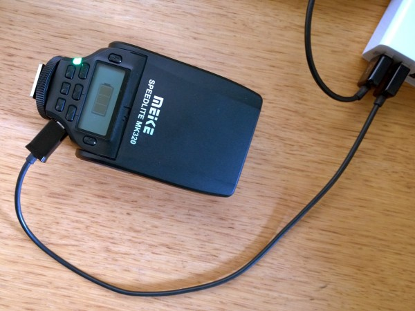 MeiKe MK320 micro-USB charging