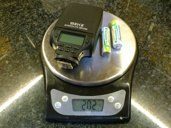 MeiKe MK320 weight