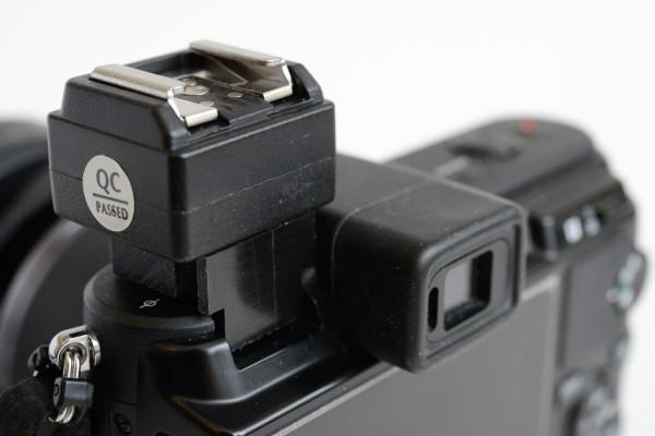V2-F1A generic flash adapter for Nikon 1 V1, V2 and V3.