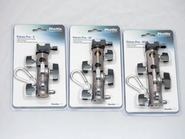 Phottix Varos Pro Small, Medium and BG