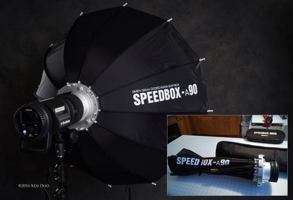 SMDV Alpha Speedbox: Professional lighting modifier to go
