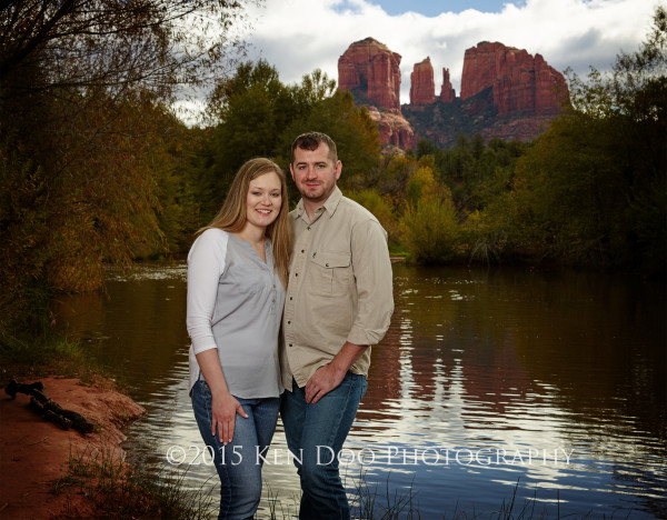Engagement Session in Sedona, AZ. Phase XF with IQ180, Phase SK 75-150mm LS; SMDV Alpha Speedbox with Profoto B2